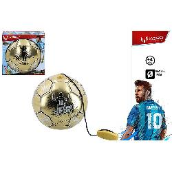 BALON MESSI CON CUERDA