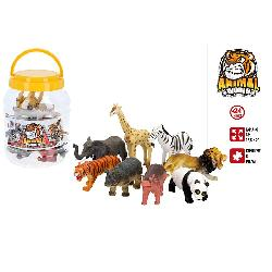 ANIMALES SALVAJES 8PCS CON...
