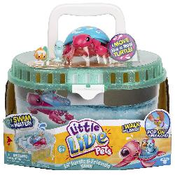 LITTLE LIVE PETS-TANQUE Y TORTUGA MOLONA