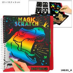 LIBRO DINO WORLD MAGIC SCRATCH