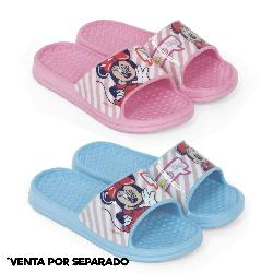 CHANCLA BAÃ'O MINNIE HELLO 2 SURT T24-30