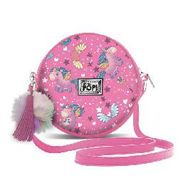 BOLSO OHMYPOP REDONDO MAGIC FUCSIA