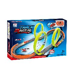 PISTA COCHES CON 3 LOOPING...
