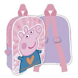 MOCHILA PEPPA PIG PIG 28CM