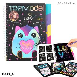 TOP MODEL MAGIC SCRATCHBOOK