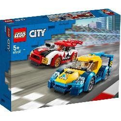 LEGO CITY-COCHES DE CARRERAS