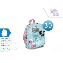 CARTERA 3D 24CM CATS MOCHILA