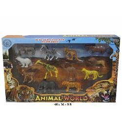 ANIMALES SALVAJES 12 PCS EN...