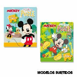 MICKEY DISNEY LIBRO PUZZLE...