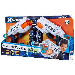 PISTOLAS REFLEX 6 X-SHOT...