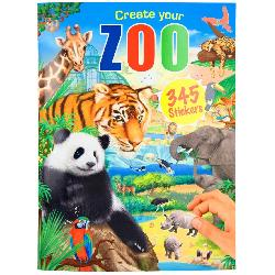 LIBRO STICKERS CREATE YOUR ZOO
