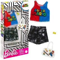 BARBIE MODAS SUPER MARIO SURT