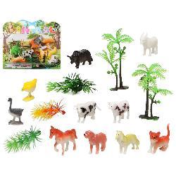 ANIMALES GRANJA EN BLISTER